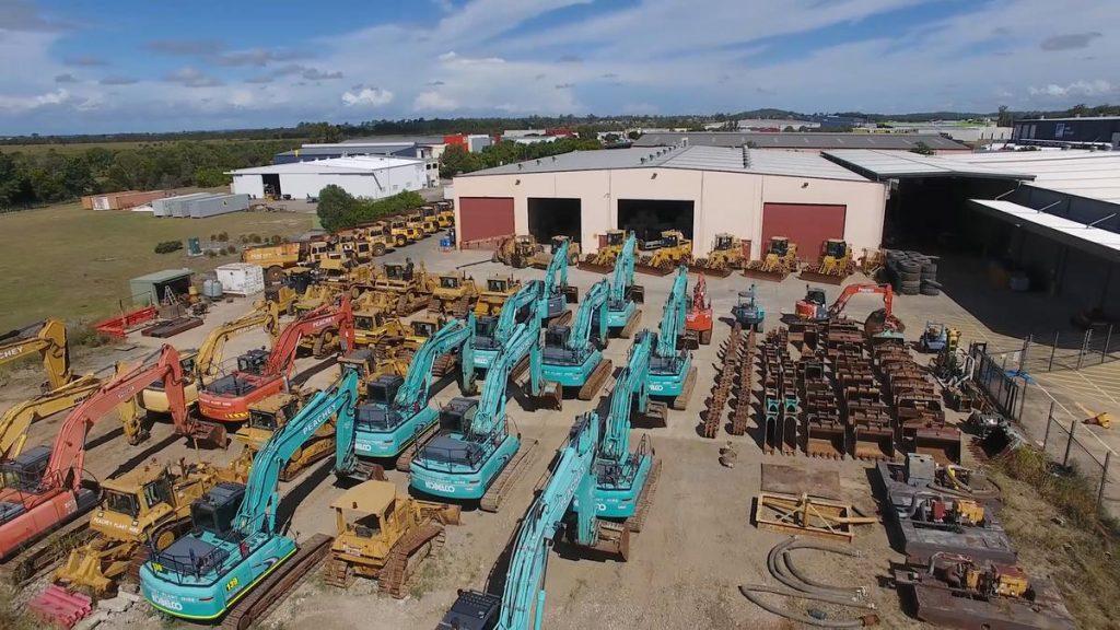 Excavators Heavy Equipment