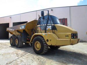 Articulated Dump Truck Heavy Equipment