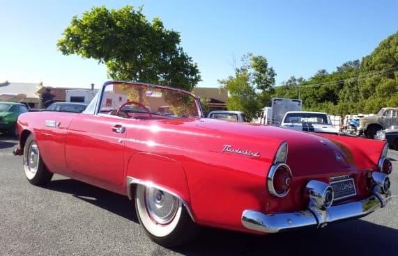1950s Ford Thunderbird