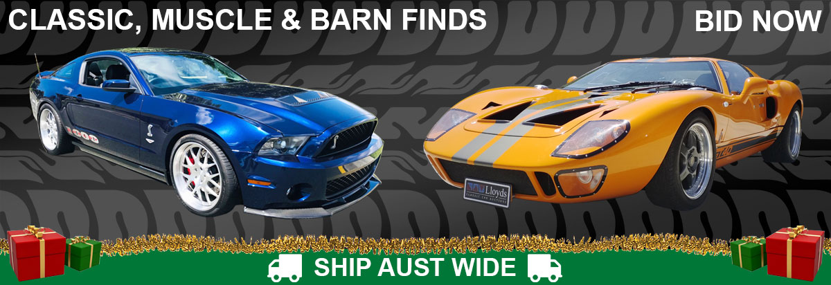 Classic, Muscle & Barn Finds Auction (A680)(CC128)