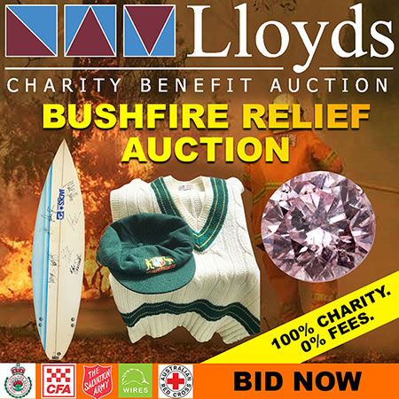Bushfire Relief Charity Auction
