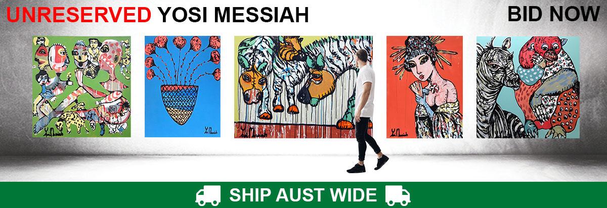 UNRESERVED Yosi Messiah Original Paintings