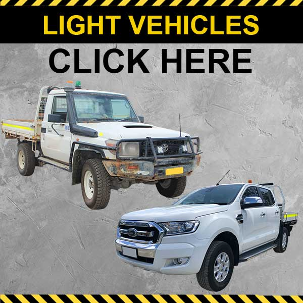 Light Vehicles Heavy Equipment Auction Lots