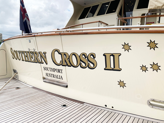 yacht name