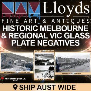 Historic Melbourne & Regional Victoria Glass Plate Negatives