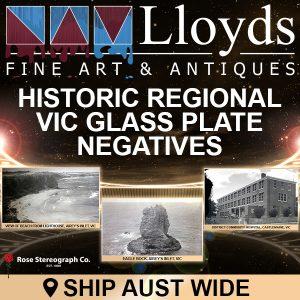Historic Regional Victoria Glass Plate Negatives