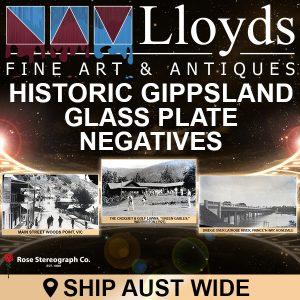 Historic Gippsland Glass Plate Negatives