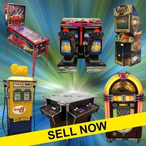 SELL PINBALLS & ARCADE MACHINES